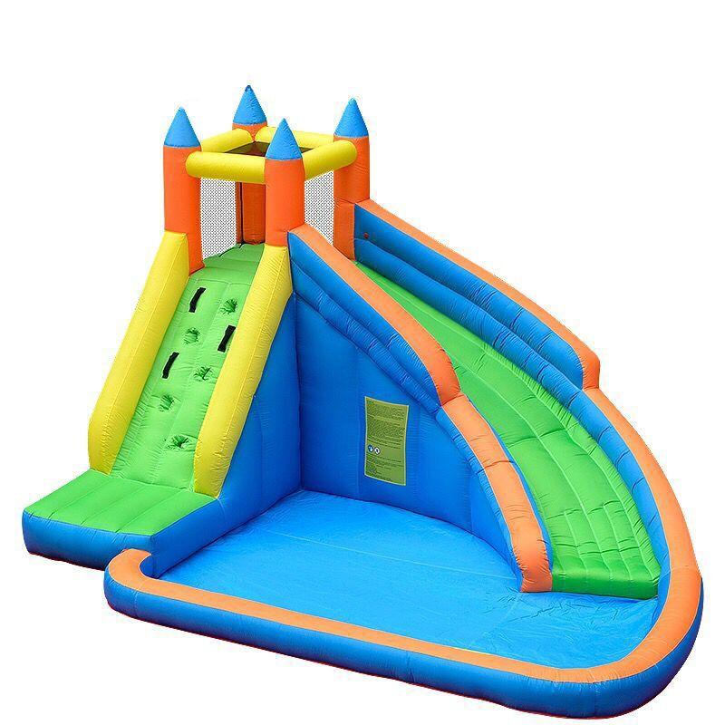 Kinder Aufblasbare Wasserrutsche Big Pool Bounce Haus Jumper Bouncer Jump Bouncy Castle