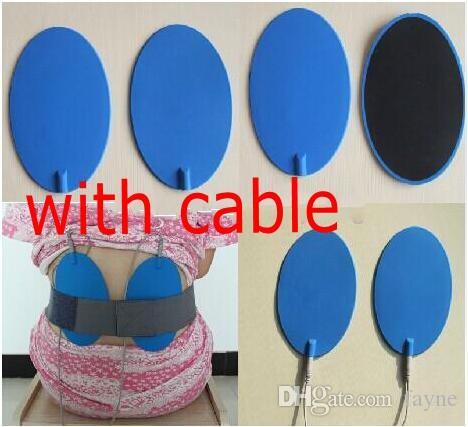 15x 9.5 cm Almohadillas de electrodos Electro Shock Therapy Accesorios de almohadilla de masajeador para TENS / EMS Máquina Cuidado de la salud BDSM Bondage Gear Se xToys Productos
