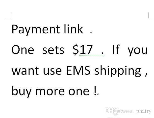 link de pagamento para o transporte e outros custos 2018