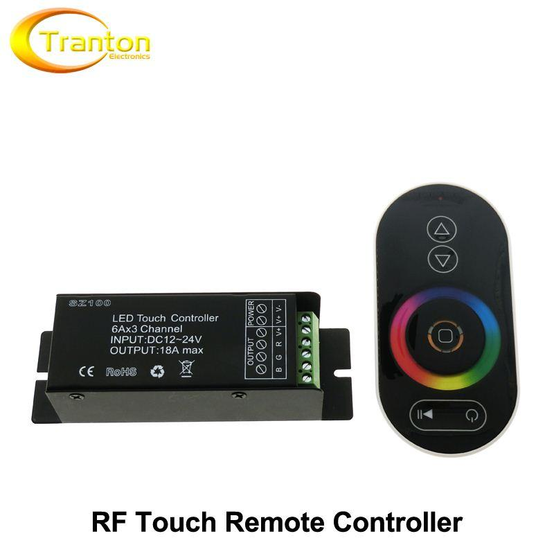 RF Wireless Touch LED Controller Remote Control RGB / CT / DIM DC12-24V for LED Strip