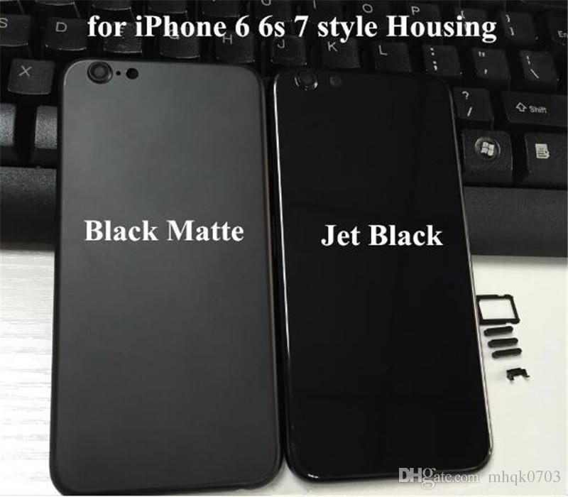 iPhone 6 Matte Black / Gold Housing