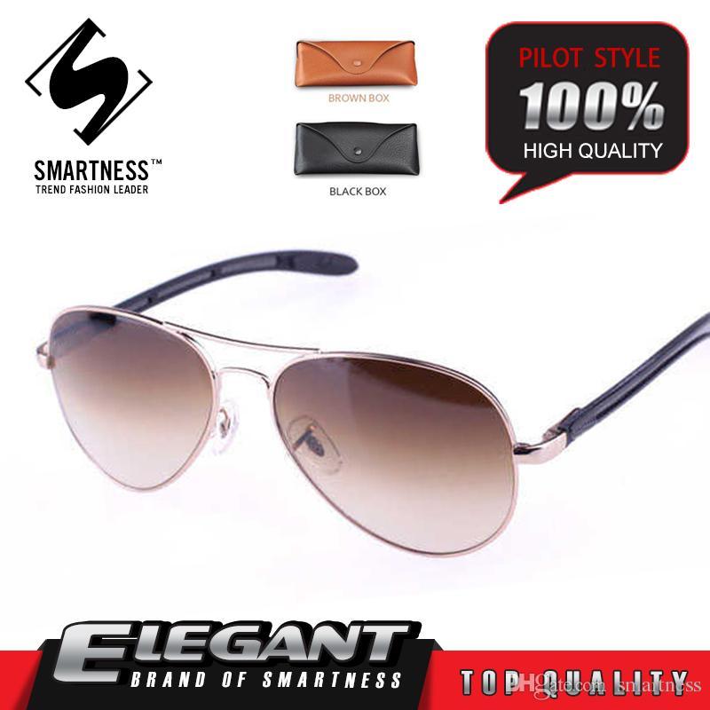 Fashion 2016 sunglasses pilot sport fishing G15 Glass lens titanium carbon fiber frame men women vintage retro brand Pilot 08307 sunglasses
