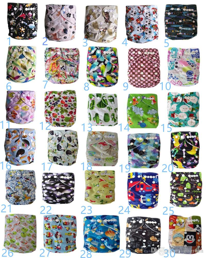 Cloth or mesh Diaper 2017 High Quality Adjustable Reusable Washable Baby Cloth Diaper Nappy Newborn Cloth Diapers