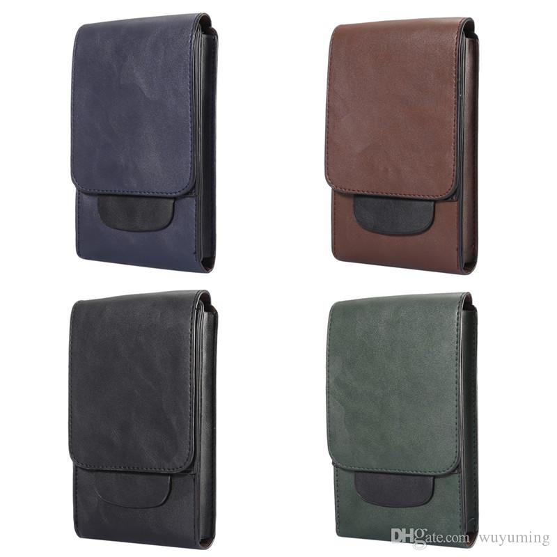 Universal Cell Phone Bag Belt Clip Pouch Waist Purse Case Cover for Iphone6 7 Plus Multifunction Wallet for Samsung S8+