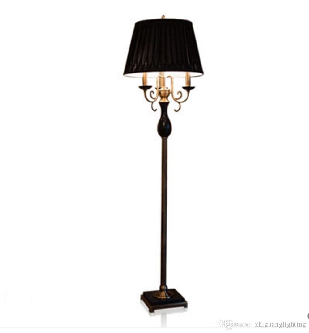 Grosshandel Europaische Stil Stehlampe Schwarz Klassischen Villa