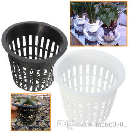 30 Pcs 3inch Heavy Duty Maille Pot Net Coupe Légumes Grandir Panier Fleur Plante Hydroponique Aéroponique Planter Grandir