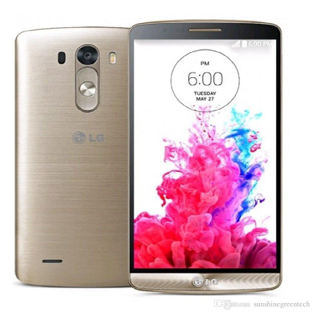 Восстановленные телефоны LG G3 D850 d851 D855 EU версия разблокированный телефон 5.5 inch 3GB RAM 32GB ROM 16MP сотовый телефон
