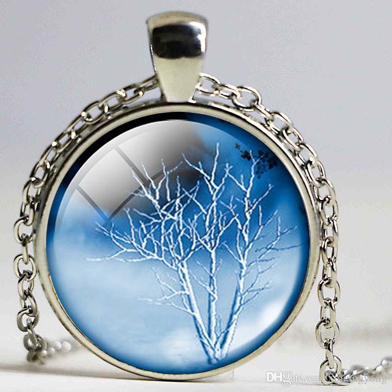 Hayat ağacı kolye Hayat Ağacı kolye Hayat Ağacı Takı Orman Woods Noel Hediye Arkadaşlar için