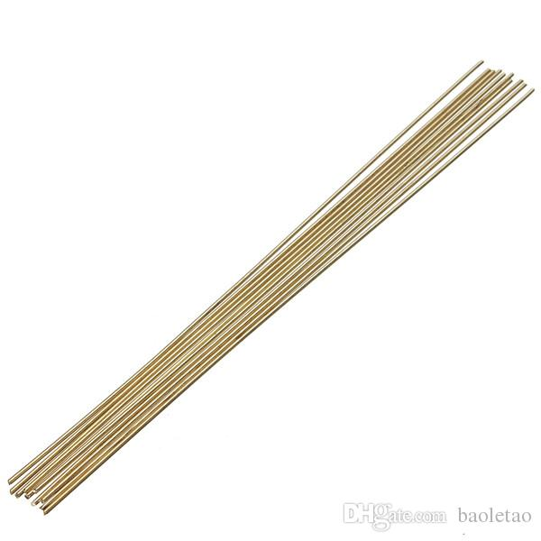 Brass Rod Wires Electrodes 10 Inches Set For Repair Welding Brazing Soldering