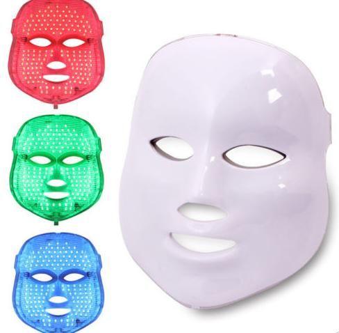 PDT LED Máscara de fotones para la piel facial acné terapia del rejuvenecimiento máquina de la belleza