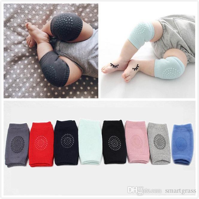 Chaussettes de bébé Beauté Crawling genouillères Tableau de la jambe Chauffe-jambe Enfants Sécurité Enfants Coussin Coussin À genoux Protecteur 16110102