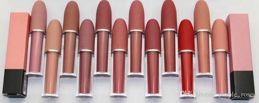 Livraison gratuite! 2017 nouvelle marque lustre lipgloss / rouge / rouge à lèvres 4.5g 12 Couleur différente (12pcs / lot)