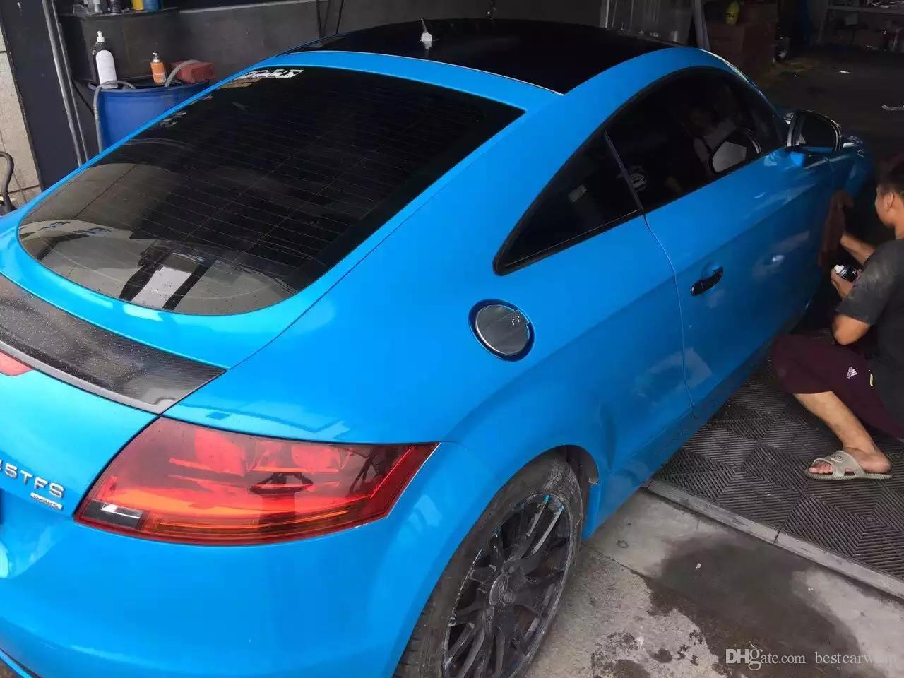 3M 1080 Sky Blue Gloss Vinyl Vehicle Wrapping Decal