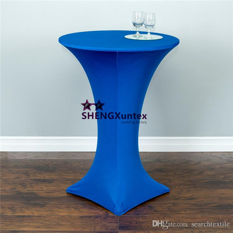 Cocktail Table Cober \ Spandex Lycra Table Cloth Free Shipping