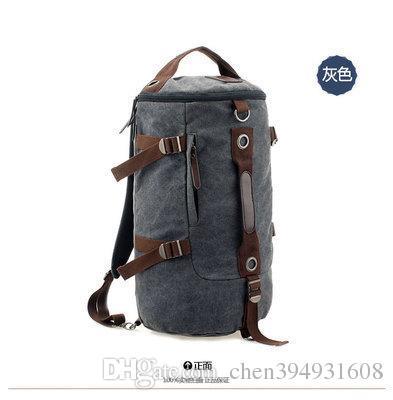 Отличное качество кофе большой емкости человек дорожная сумка открытый альпинизм рюкзак туризм отдых холст ведро Сумка