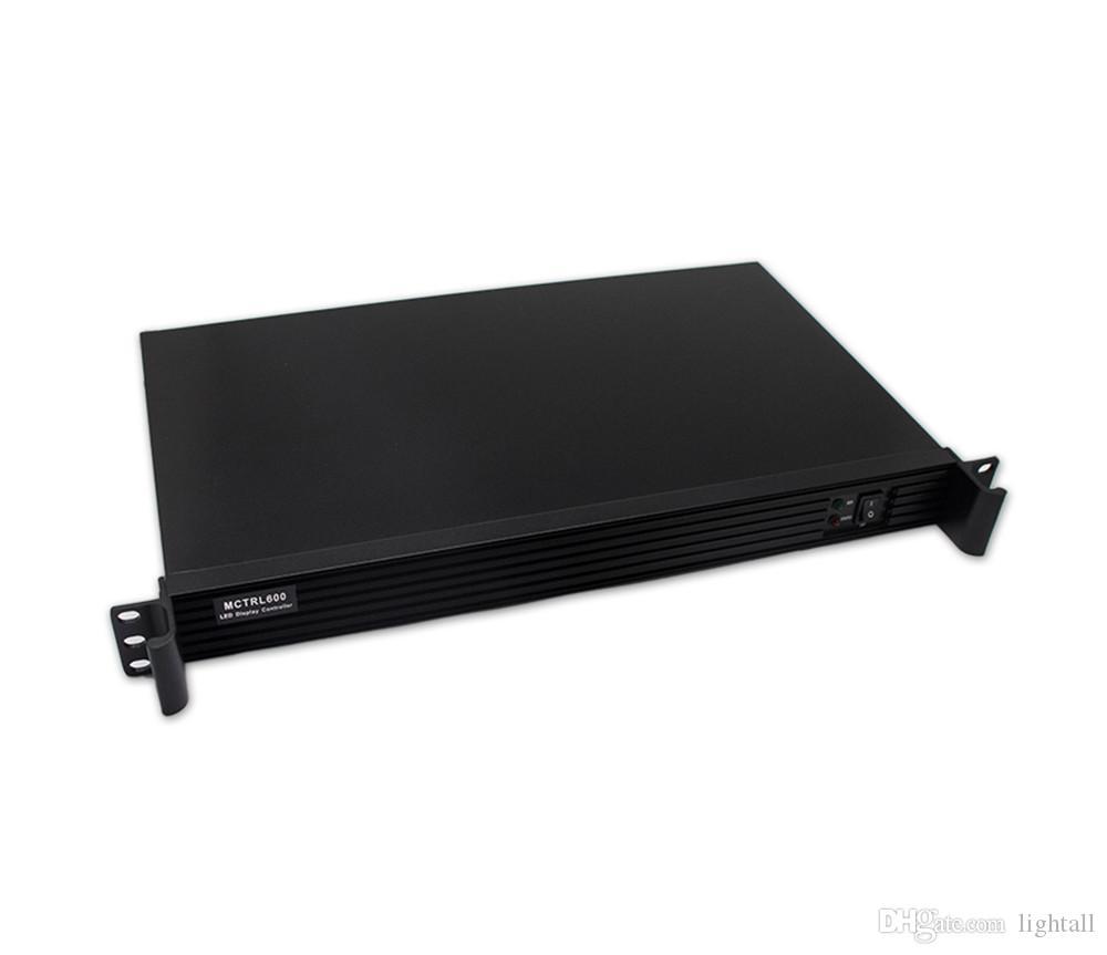Carte d'envoi de l'affichage à LED de mctrl600, affichage vidéo polychrome de LED Boîte synchrone de transmission de Novastar MCTRL600, entrée de HDMI DVI d'ordinateur portable