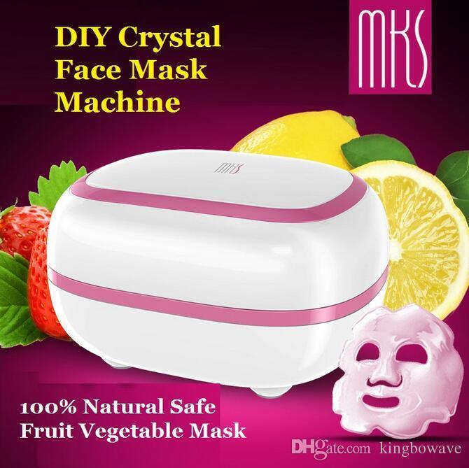 2017 Nueva Alta Calidad MKS NV8328 CRYSTAL Máquina de Máscara Facial 100% Natural DIY Mascarilla Vegetal Mascarilla Facial máquina facial