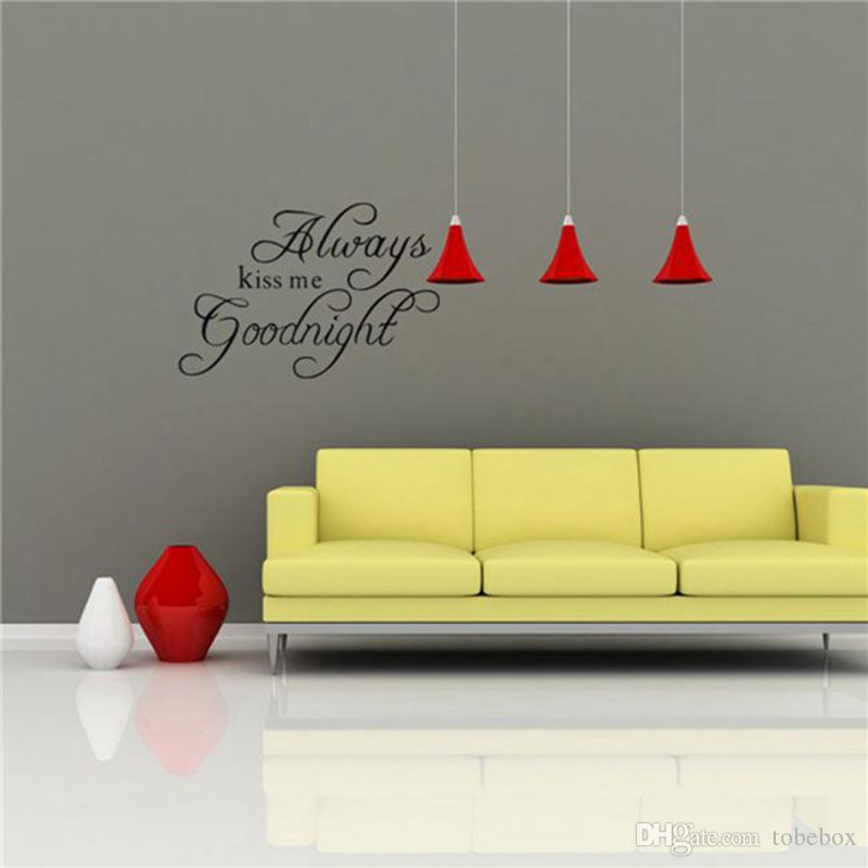 Removable Wall Stickers Vinyl Quotes Wall Decal And Saying Home ...