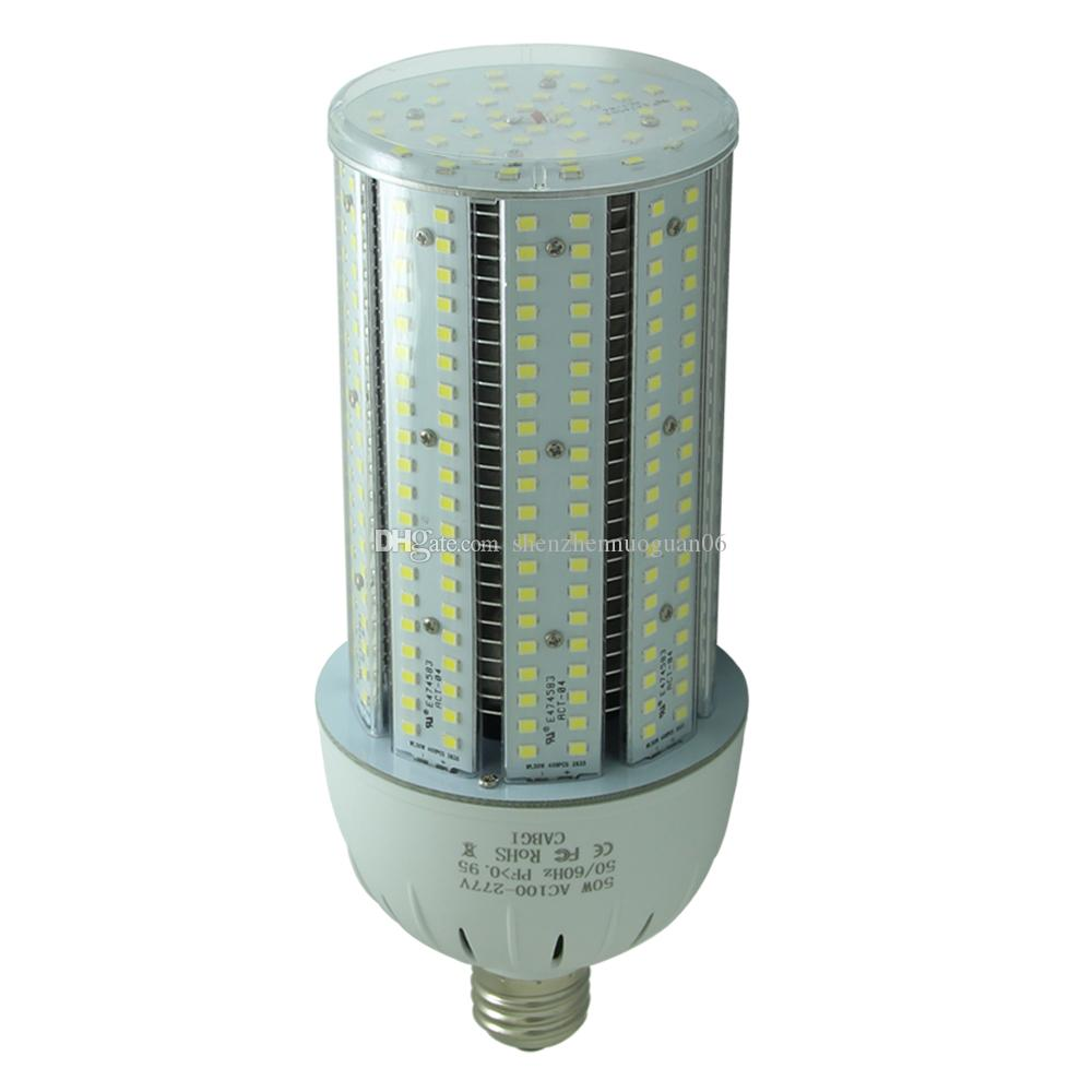 ULc 150W LED Corn Bulb Parking Lot Light Retrofit 800Watt Metal Halide 5000K E39