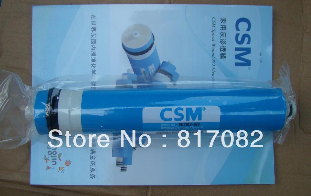 Satışa CSM 100gpd Konut RO Membran RE2012-100 Su Filtresi Su Arıtma