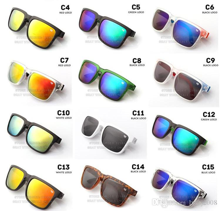 New Brand Designer Spied Ken Block Helm Sunglasses Fashion Sports Sunglasses Oculos De Sol Sun Glasses Eyeswearr 21 Colors Unisex Glasses