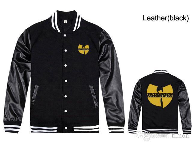 Wu tang vestes de baseball pour les hommes de la mode hip-hop hommes manteaux d'hiver livraison gratuite nouvelle remise Wu tang vêtements vestes de hip-hop