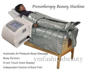 Pressotherapie Körper Abnehmen Maschine Luftdruck Entgiftung Beauty Equipment Weight Loss Device Körpermassage Lymphdrainage