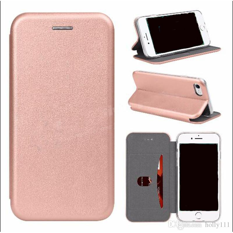 new concept fdd4a cd751 For Apple Iphone X Wallet Case PU Leather Cover Cases Iphone 7 S8 Wallet  Back Cover Pouch With Card Slot Photo Frame Canada 2019 From Holly111, CAD  ...