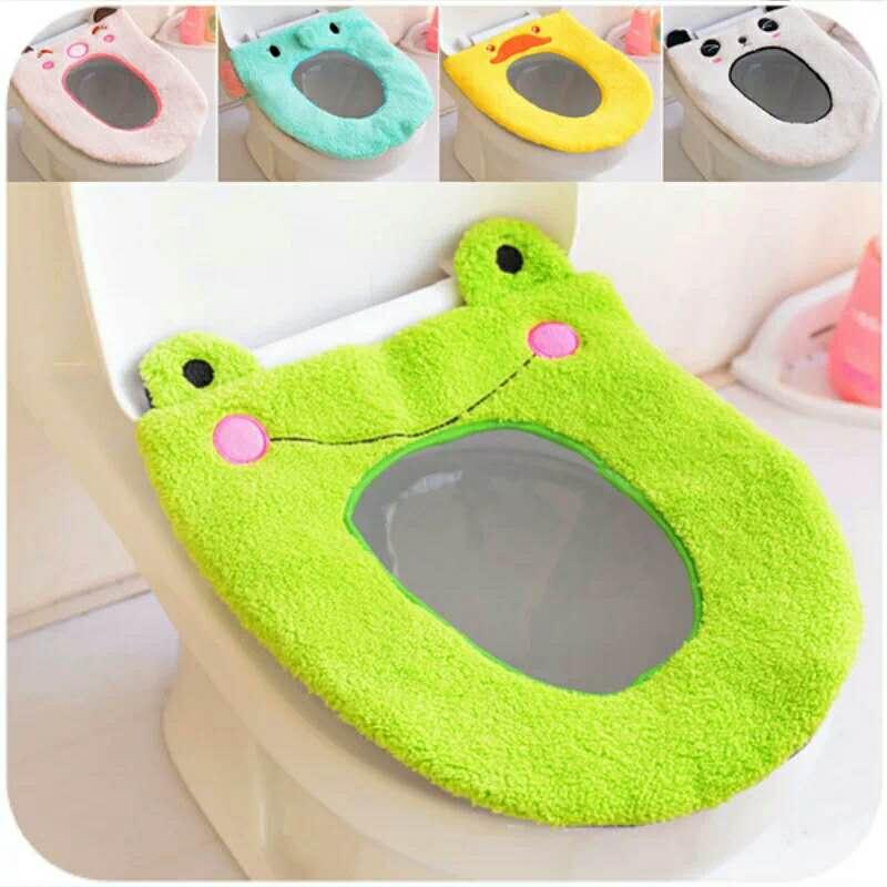 Stupendous 2019 Warm Soft Comfy Cute Cartoon Washable Warm Toilet Seats Covers Warm Velvet Toilet Seat Cushion Plush Toilet Seat Cushion From Ava7228 9 9 Onthecornerstone Fun Painted Chair Ideas Images Onthecornerstoneorg