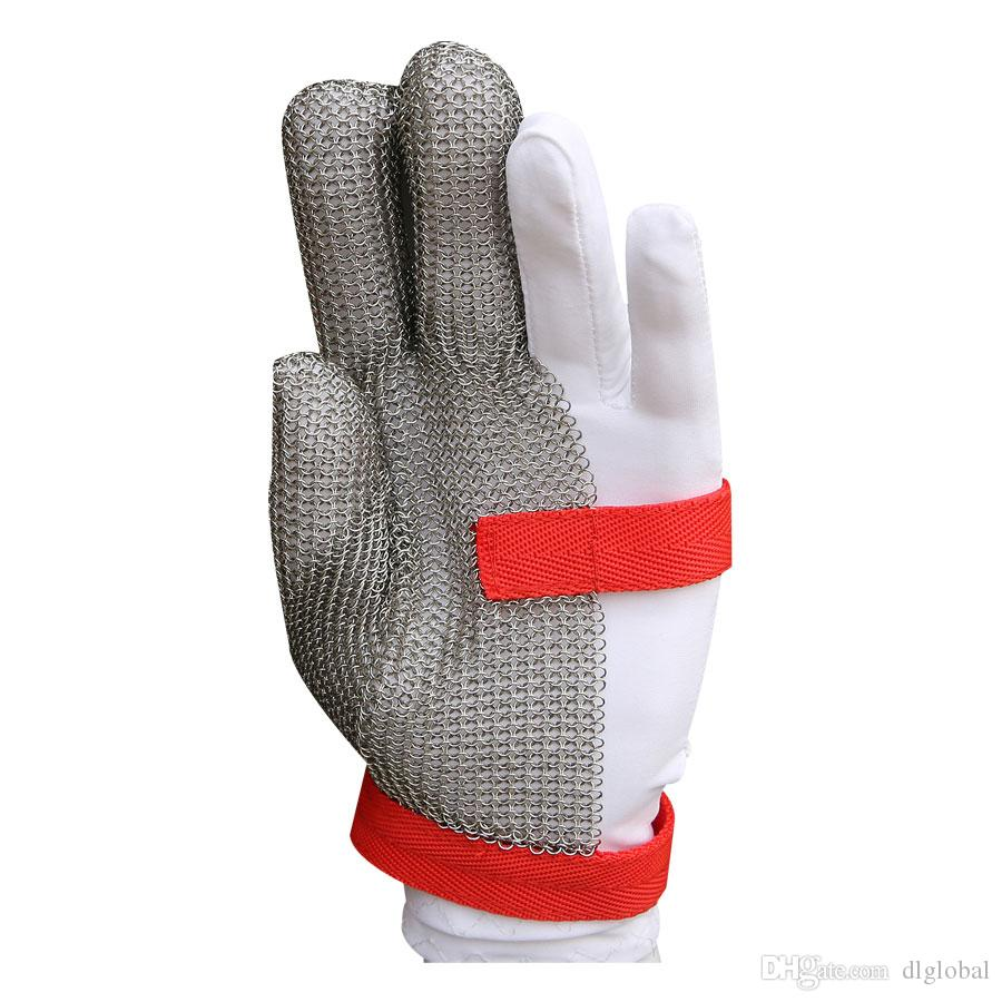 m chain stainless glove oyster glove mesh metal mesh butcher  -  m chain stainless glove oyster glove mesh metal mesh butcheranticutting gloves three fingers