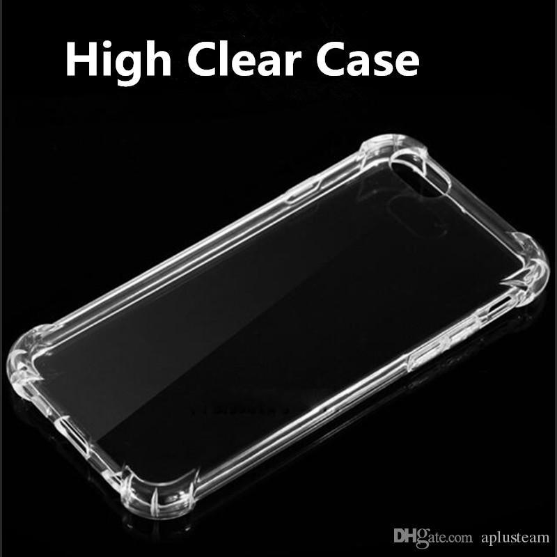 Ультратонкий Кристалл гель Gasbag прозрачный чехол для Samsung S8 S8 plus iPhone 6s 7 Примечание 5 ультра-тонкий прозрачный мягкий ТПУ задняя крышка кожи противоударный