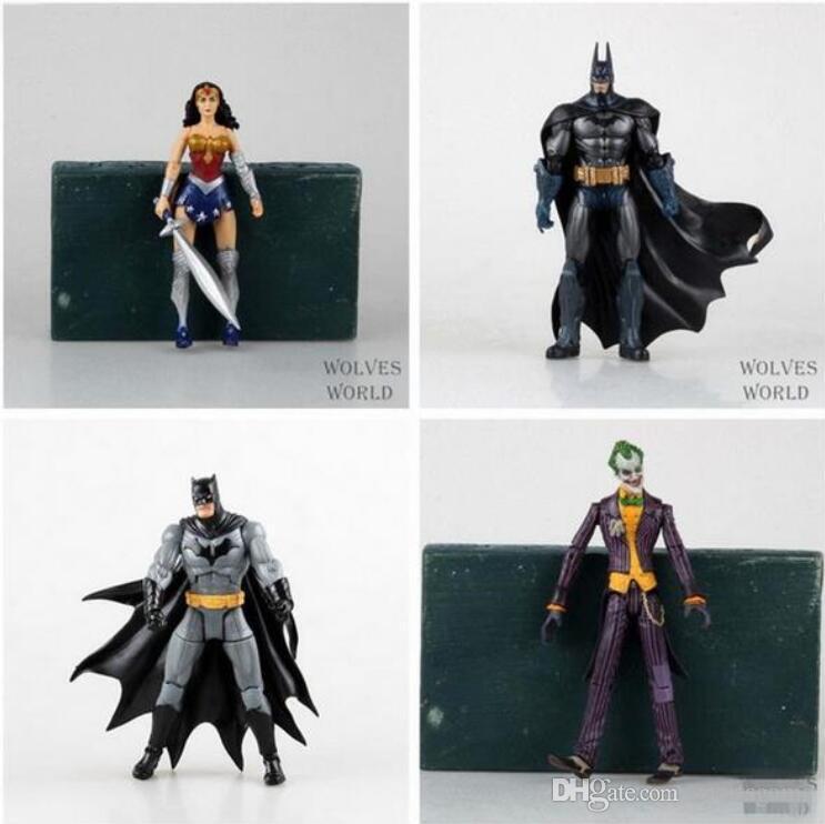 """DC Heroes Joker Mulher Maravilha PVC Action Figure Crianças Brinquedos de Presente para As Crianças 7 """"18 cm Frete Grátis"""