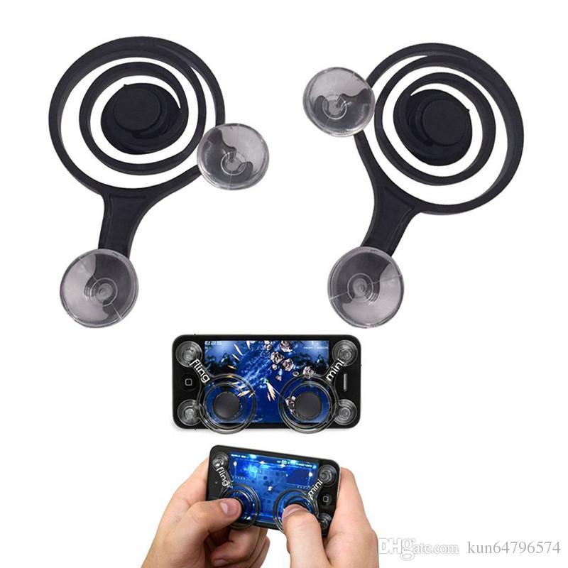 Mini joysticks de juegos para teléfonos móviles, joystick de pantalla táctil para teléfonos inteligentes Arcade juegos físicos