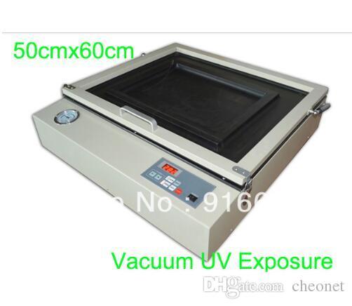 """HıZLı Ücretsiz kargo 50 cm x 60 cm (20 """"x 24"""") Ekran plakası vakum pozlama makinesi ekran baskı UV pozlama ünitesi ekipmanları"""