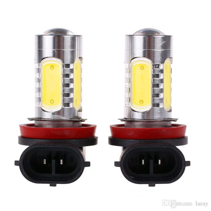 LED Auto Fendinebbia Auto-Styling 7.5W COB LED Luci di rimorchio Tail Guida Bulb Truck Lights 12v Led Light Car Accessories
