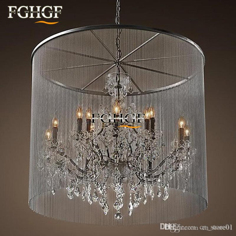 Modern vintage crystal chandelier lighting rustic candle modern vintage crystal chandelier lighting rustic candle chandeliers pendant hanging light for home hotel and restaurant aloadofball Gallery