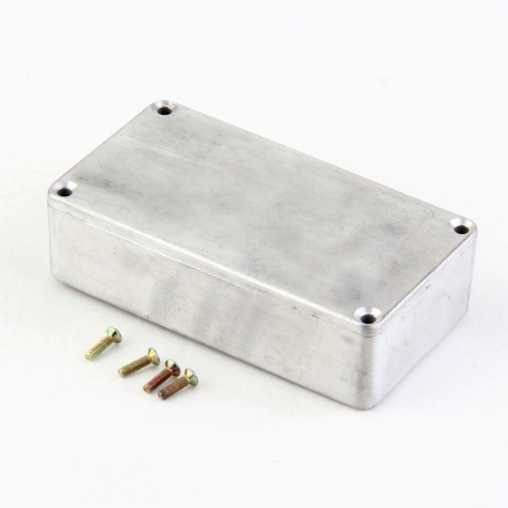1 قطع ستومب صندوق آثار 1590B / 1590A نمط الألومنيوم دواسة الضميمة للغيتار بيع شحن مجاني