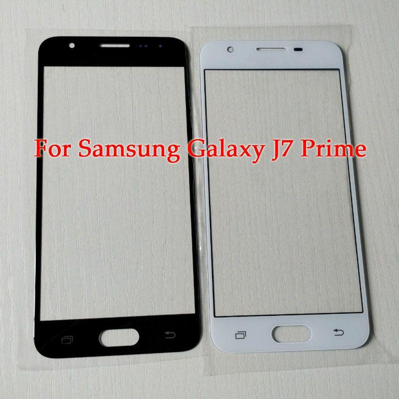 Pour Samsung J7 Prime Screen Pièce de rechange pour Samsung galaxy J5 Prime Écran En Verre Écran Avant Lentille Extérieure avec des outils