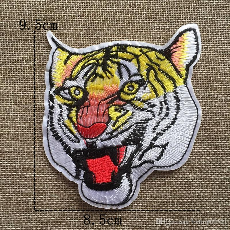 Free Shipping~ Animal cartoon fashion Iron On Embroidered Patch Appliques DIY bag clothing patches Applique Badges