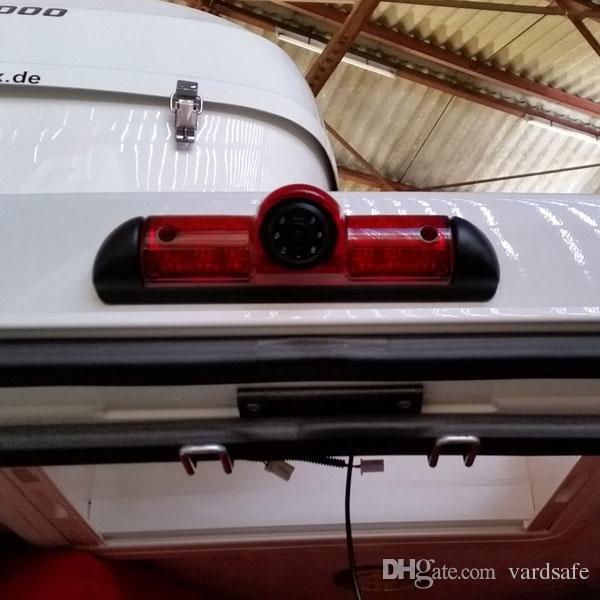 Car 3rd Brake Light Rearview Camera for Peugeot Boxer Citroen Jumper Fiat Ducato