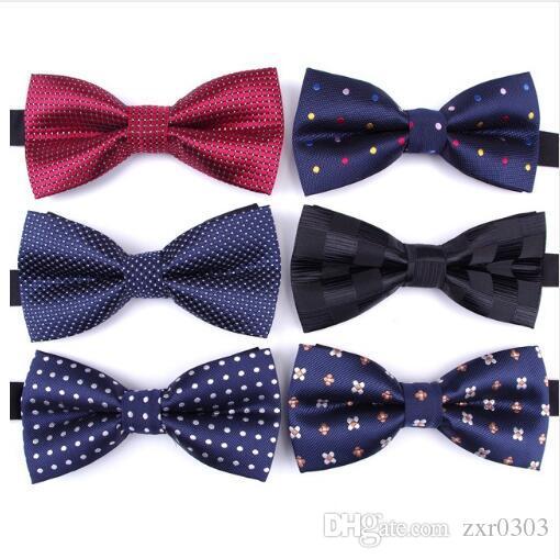 Твердые Моды галстуки-бабочки жених мужчины галстуки-бабочки красочные плед галстук Гравата мужской брак бабочка свадебные галстуки-бабочки
