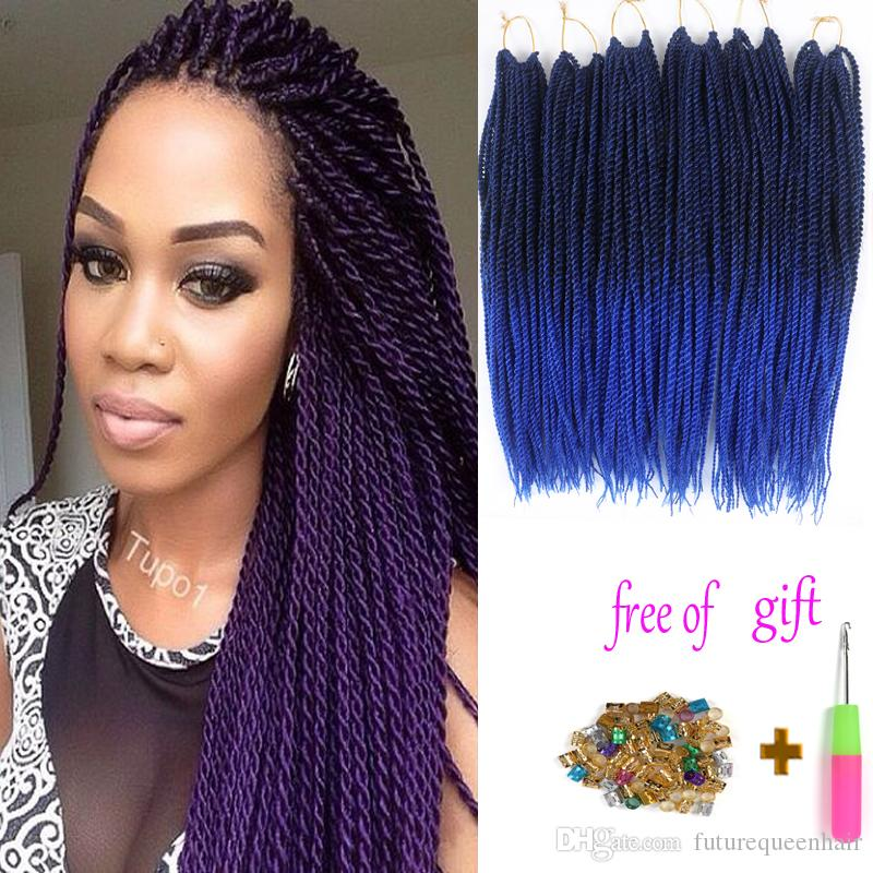 2019 100 Kanekalon 18 Inch 80g Havana Twist Crochet Braids Hair