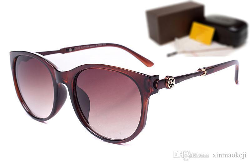 Großhandel Mode Millionär Herren Sonnenbrille Markendesigner Sonnenbrille für Frauen UV-Schutz Vintage Sonnenbrille mit Box
