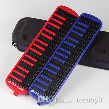 Yüksek kaliteli Oral organ deliği 32 anahtar yetişkin öğrenci oynayan çocuk acemi organ Piyano Üfleme Sınıf Öğretim