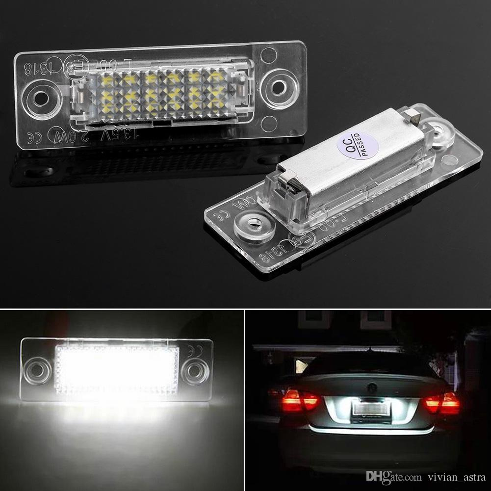 VW Caddy 2010-14 LED DRL Headlight Upgrade Bulbs XENON White 6000k Replacement