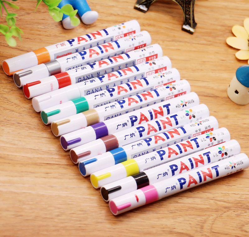 Мы красим перо SP110 граффити знак ручка свадебный альбом название маслянисто-белая краска ручка знак