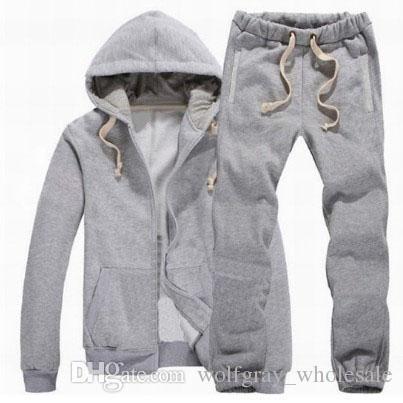 Marka Giyim Erkek Giyim Moda Polo Eşofman Küçük at Rahat SportSuit Erkek Bahar Sonbahar Hoodies / Tişörtü Coat + Pantolon Eşofman