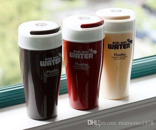 1ピース携帯用ウォーターボトル屋外コーヒーマグマウンテンプラスチック200mlスポーツ飲料ジャグ可変色J1367