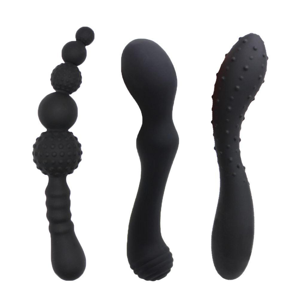 Toysdance 100٪ سيليكون للجنسين مرنة الشرج دسار الكبار الشرج الجنس لعب بوت التوصيل g- بقعة مدلك منتجات جنسية للنساء 17420