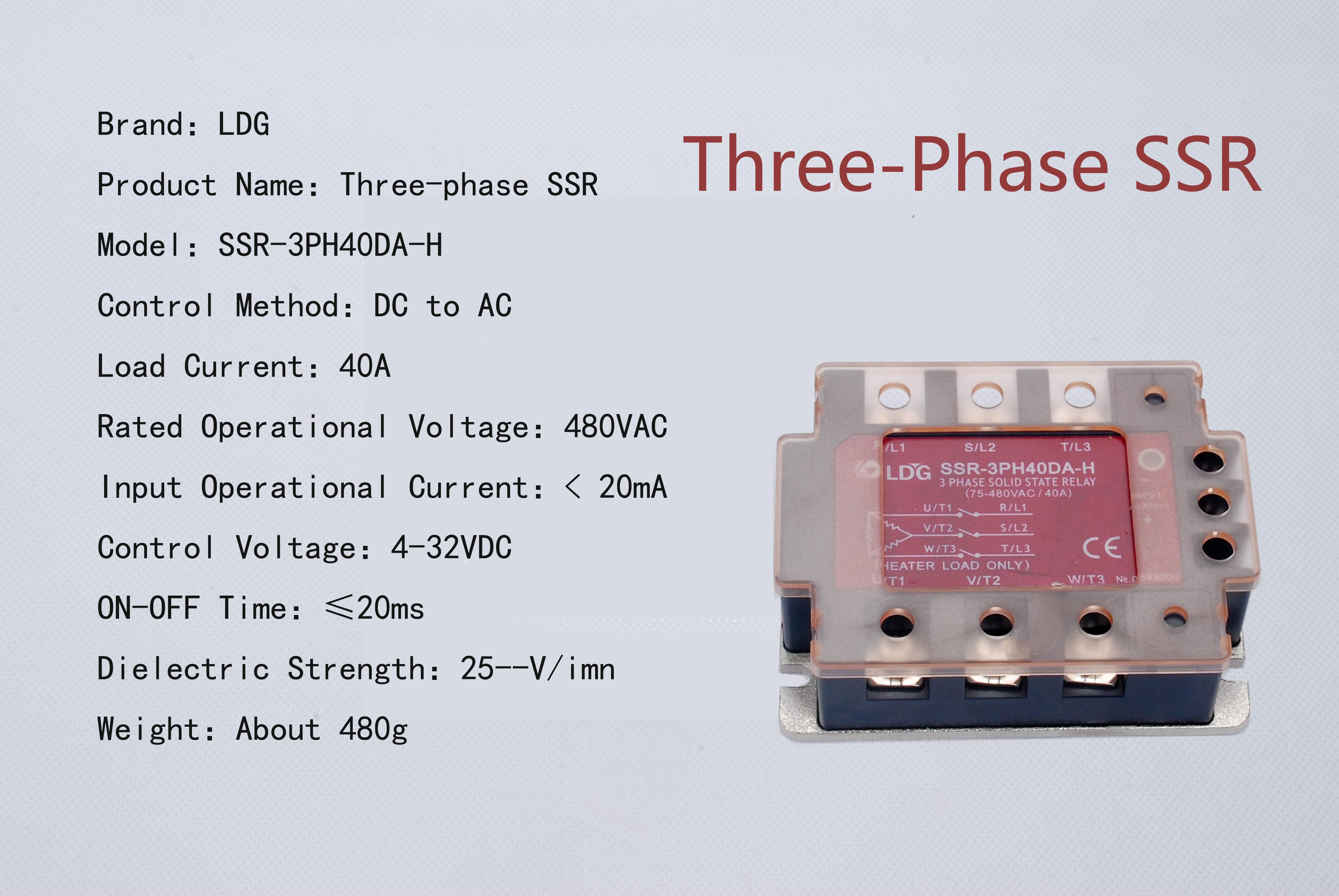 Current Relay 3 Phase